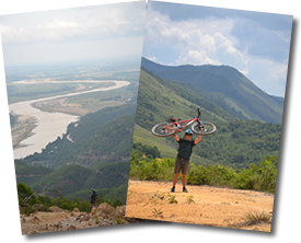customised mountain bike and bicycle tours in Hoi An - Vietnam